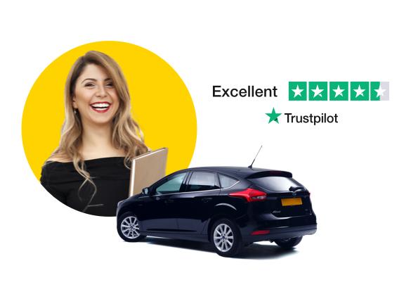 Trustpilot review in image